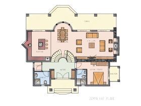 Image No.9-Bungalow de 4 chambres à vendre à Ovacik