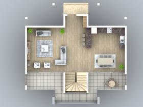 Image No.10-Villa / Détaché de 4 chambres à vendre à Ovacik