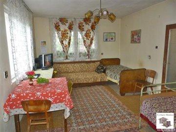 spacious living-room, three-storey house