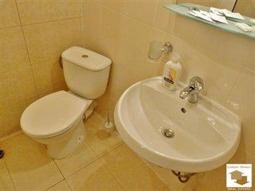 bathroom with toilet