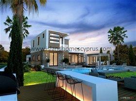 Image No.0-Villa / Détaché de 4 chambres à vendre à Ayia Thekla