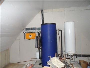 Attic-boiler