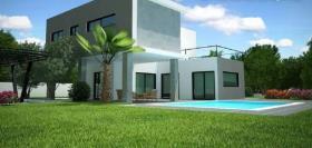 Akrounta, House