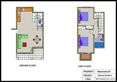 AKAMAS-GARDENS-Maisonette-No-D4-2-Bed-Colour-Plan
