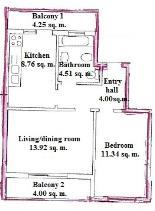 Image No.14-Appartement de 1 chambre à vendre à Cabanas