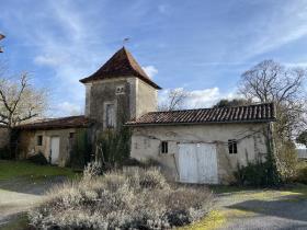 Image No.11-Maison de campagne de 4 chambres à vendre à Festalemps