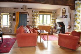 Image No.1-Maison de campagne de 5 chambres à vendre à Grassac