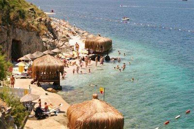 Hotel-beach