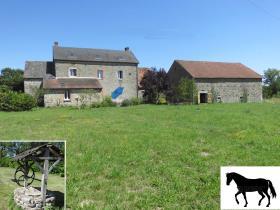 Image No.0-Maison de campagne de 4 chambres à vendre à Chénérailles