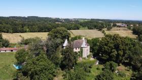 Image No.1-Châteaux de 7 chambres à vendre à Aubusson