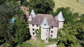 Image No.2-Châteaux de 7 chambres à vendre à Aubusson