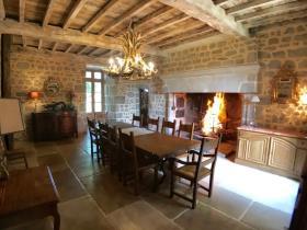 Image No.10-Châteaux de 7 chambres à vendre à Aubusson