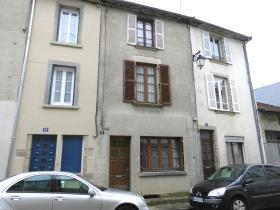Image No.0-Maison de ville de 4 chambres à vendre à Bourganeuf