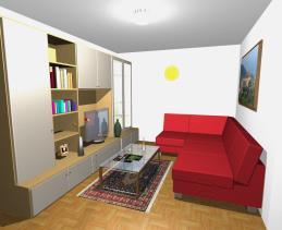 Image No.2-Maison de campagne de 3 chambres à vendre à Longobardi