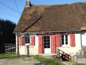 Image No.1-Maison de campagne de 1 chambre à vendre à Meuzac