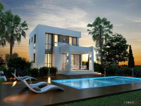 Image No.0-Villa / Détaché de 3 chambres à vendre à Ayia Thekla