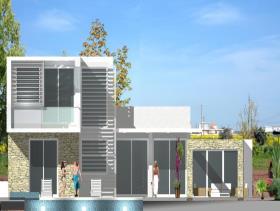 Image No.1-Maison / Villa de 4 chambres à vendre à Ayia Thekla