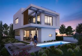 Image No.1-Villa / Détaché de 3 chambres à vendre à Ayia Triada