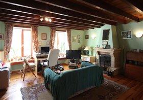Image No.2-Maison de campagne de 7 chambres à vendre à Fontaine-Chalendray