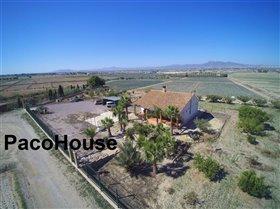 Image No.1-Maison de campagne de 5 chambres à vendre à Lorca
