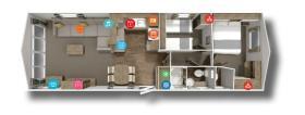 Image No.2-Mobile Home de 2 chambres à vendre à Saint-Gilles-Croix-de-Vie