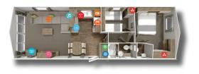 Image No.19-Mobile Home de 2 chambres à vendre à Pisa