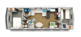 Image No.12-Mobile Home de 2 chambres à vendre à Pas-de-Calais