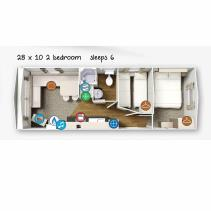 Image No.11-Mobile Home de 2 chambres à vendre à Castellon