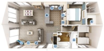 Willerby-Clearwater-Lodge-2020-Floorplan-36x20-2-bed