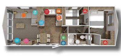 14-Floorplan-Willerby-Avonmore-2019-Almeria-Mojacar-Spain