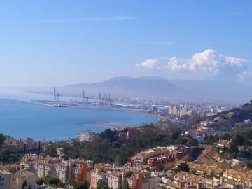Bay-of-Malaga-from-the-heights-of-Cerrado-de-Calderon-Costa-del-Sol-2