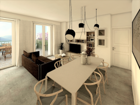 Image No.7-Appartement de 1 chambre à vendre à Pianello Del Lario