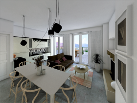 Image No.4-Appartement de 1 chambre à vendre à Pianello Del Lario