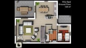 Image No.7-Maison / Villa de 3 chambres à vendre à Side