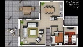 Image No.11-Maison / Villa de 3 chambres à vendre à Side