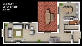 Image No.19-Maison / Villa de 3 chambres à vendre à Side