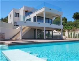 Image No.1-Villa de 4 chambres à vendre à Benissa