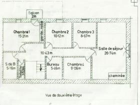 Image No.1-Maison de campagne de 4 chambres à vendre à Vic-Fezensac
