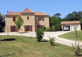 Image No.0-Propriété de pays de 4 chambres à vendre à Frayssinet-le-Gelat