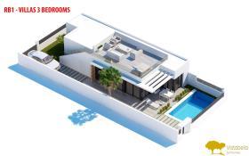 Image No.2-Villa de 3 chambres à vendre à Vistabella