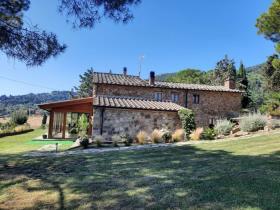 Image No.0-Maison de campagne de 4 chambres à vendre à Montecatini Val di Cecina