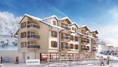 1 - Saint-Gervais-les-Bains, Apartment