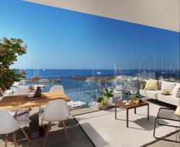 Image No.0-Appartement de 2 chambres à vendre à Marseillan