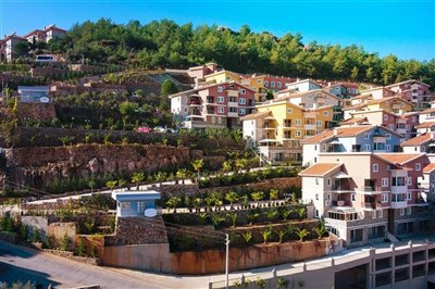 Fethiye Town Nature View Apartments - Hillside complex