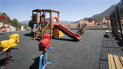 Fethiye Town Nature View Apartments -Play area
