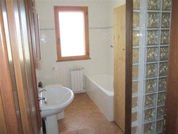 2x bathrooms:  Full size bath; sink; toilet, bidet; separate shower.