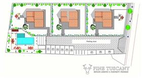 Image No.2-Villa de 3 chambres à vendre à Lajatico