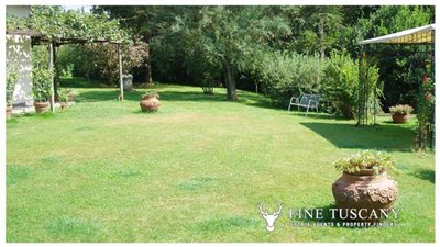 Villa-for-sale-in-Bientina--Tuscany--Italy---Back-garden-3
