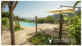 Image No.1-Maison de campagne de 4 chambres à vendre à Volterra