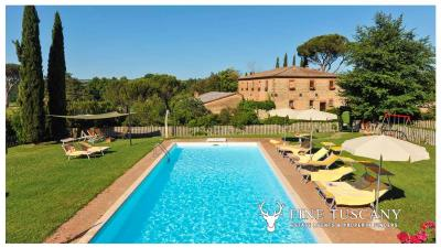 Property-with-pool-and-land-for-sale-in-Monteroni-d-Arbia--Chianti--Siena--Tuscany--Italy-2